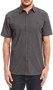 Camisa Xadrez Regular Fit, Forum, Masculino
