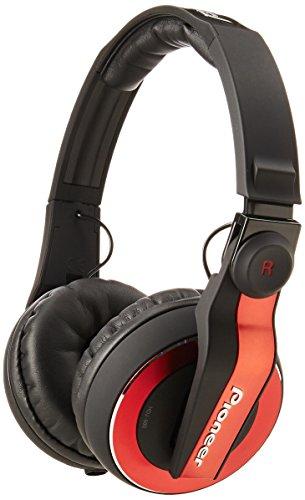 Pioneer HDJ-500R DJ Headphones - Red