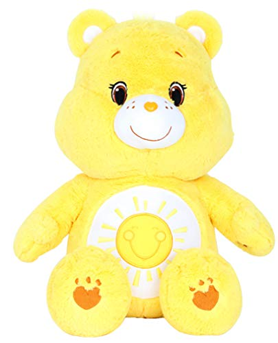"Care Bears Plush Toys Soft Stuffed Animal Doll 17"" (Funshine) from Care Bears"