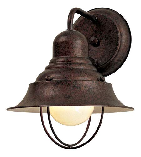 Minka Lavery Outdoor Wall Light 71167-91 Wyndmere Exterior Wall Lantern, 100 Watts, Bronze