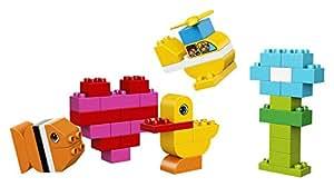 LEGO DUPLO My First Bricks 10848 Building Kit (80 Piece), Multicolor
