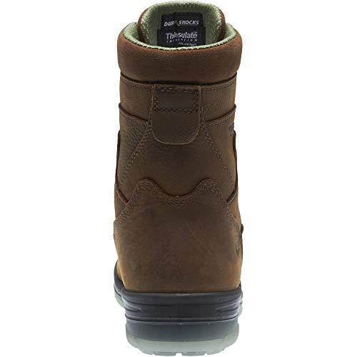 Wolverine I-90 DuraShocks Waterproof Insulated Steel Toe 8'' Work Boot Men 13 Stone by Wolverine (Image #7)