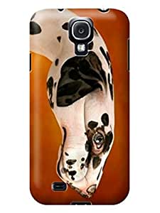 LarryToliver Coolest Customizable Logo case Top samsung Galaxy s4 Customizable Creative and Lifelike Hand Painting Art pictures Designer Cover #3