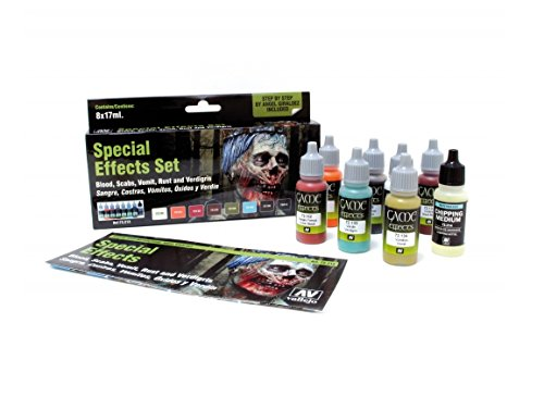 Vallejo Special Effects Paint Set product image