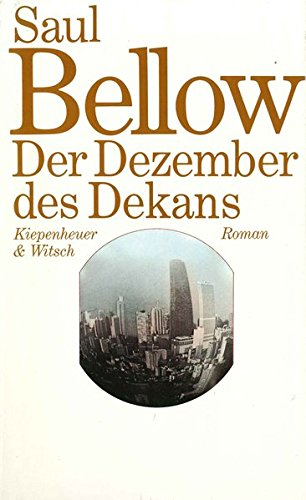 Der Dezember des Dekans: Roman