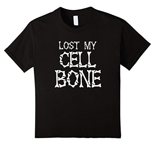 Lost Boy Costumes Ideas (Kids Funny Skeleton Halloween Shirt Costume 4 Black)