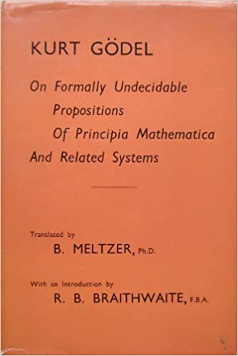 On formally undecidable propositions of 'Principia mathematica' and related systems