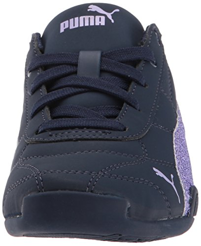 PUMA Girls' Tune Cat 3 Glam Sneaker, Peacoat-Purple Rose, 3.5 M US Big Kid by PUMA (Image #4)