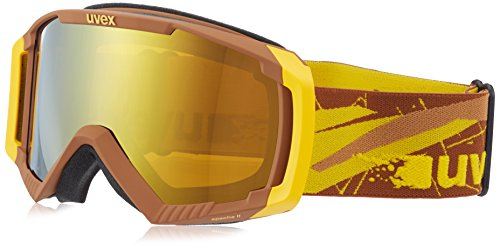 Uvex apache II Marron - Brown/Yellow Mat