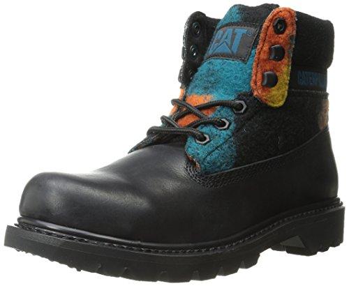 Rups Dames Colorado Wol Werkschoen Zwart Multi