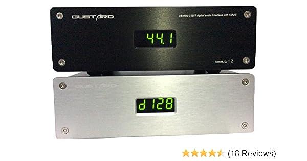 Amazoncom Gustard U12 32bit 384khz Dsd Xmos Usb Digital Audio