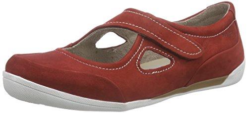 Marc Shoes Katja - Mocasines Mujer Rojo - Rot (red 650)