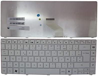 Laptop Keyboard for ACER Gateway France FR White NV49C74C NV49C75C NV49C76C NV49C81C NV49C82C NV49C83C NV49C86C NV49C88C NV49C92C NV49C93C NV49C94C NV49C95C