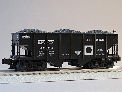 Car Hopper Gauge - LIONEL BERWIND GLA Hopper Coal CAR #4228 o Gauge