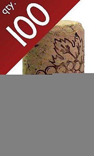#8 Straight corks 8″ x 1 3/4″ Bag of 100