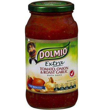 Salsa para pasta Pasta con Salsa de Tomate, Cebolla Y Ajo Asado a la Sal