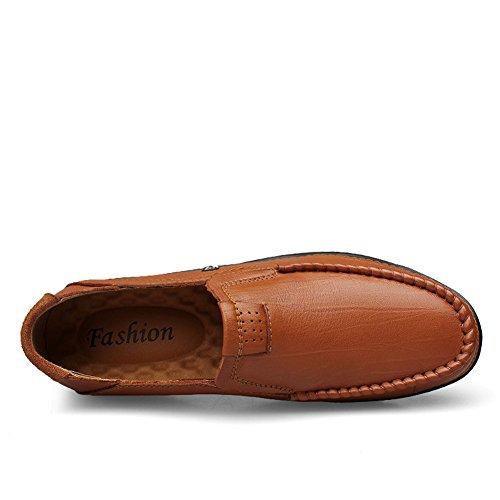 Loafers Primavera Scarpe Eleganti Marrone Mocassini Classic Autunno Lavoro Uomo tBqtTxaO