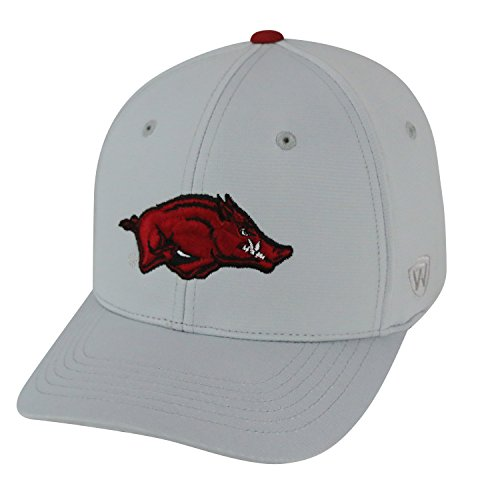 Top of the World Arkansas Razorbacks Official NCAA One Fit Impact Hat 056920 (Golf University Arkansas State)