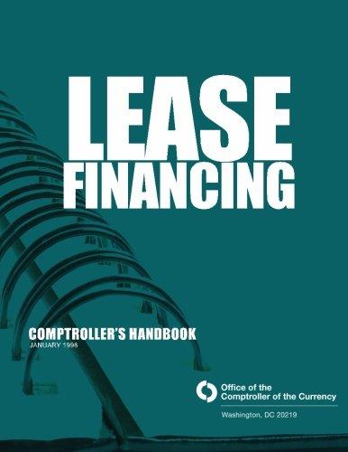 Lease Financing  Comptrollers Handbook January 1998