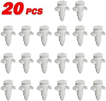 10pcs Nylon Door Trim Panel Clip for 2000-2005 Ford Excursion Lincoln Town Car