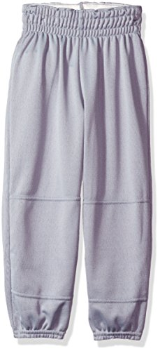 Wilson Youth Basic Classic Fit Baseball Pant, Grey, X-Small