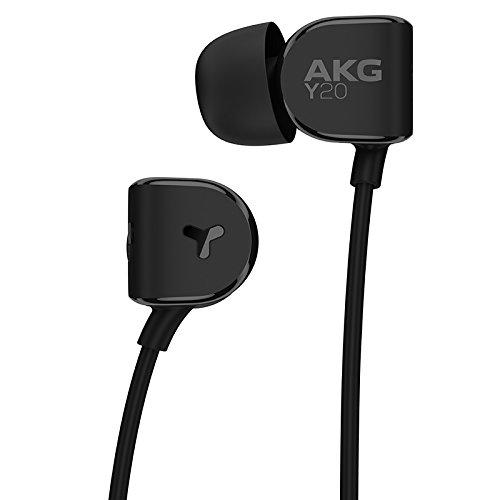 akg lightweight in ear headphone black y20 black. Black Bedroom Furniture Sets. Home Design Ideas