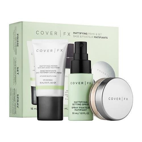 Cover FX Mattifying Prime & Set Kit by Cover FX