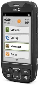 Doro PhoneEasy 740 - Smartphone libre Android (pantalla 2.63 ...