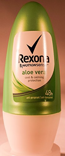 Rexona Body Roll on Deodorant for Women, Anti-Perspirant/Anit-Transpirant (12X50ml/1.7oz, Aloe Vera)