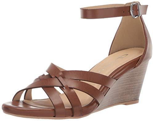 (CL by Chinese Laundry Women's Henley Wedge Sandal Rich Brown 6 M US)