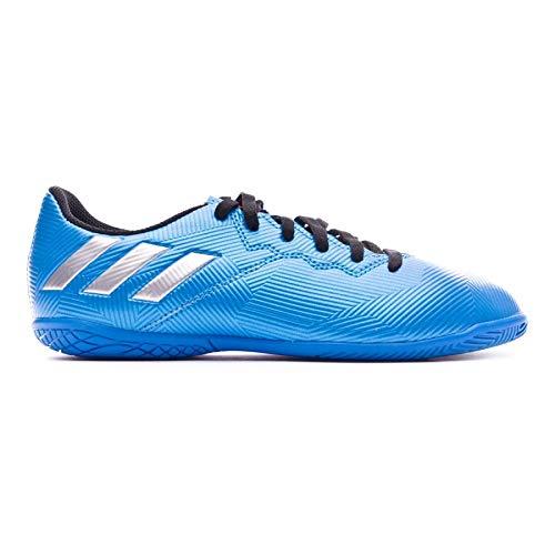 Zapatilla Messi 16.4 IN Niño Shock Blue-Matte Silver-Black Talla 28 EUR