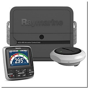 RAYMARINE-RAY-T70161-EV-400-p70-Sailboat-Pack-no-Drive-MFG-T70161-Evolution-Autopilot-system-consisting-of-ACU400-processor-p70-control-head-EV-1-sensor-and-EV-1-cabling-kit-Drive-unit-not-included