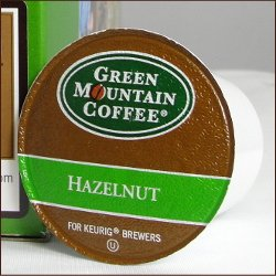 (Green Mountain Coffee HAZELNUT 120 K-Cups for all Keurig Brewing Systems)
