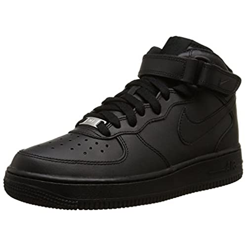 88ffb3ec898 ... aliexpress nike kids air force 1 mid gs black black basketball shoe 6  kids us d9c8d