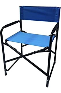 Papillon 8043500 Silla Playa Aluminio Director Azul: Amazon ...