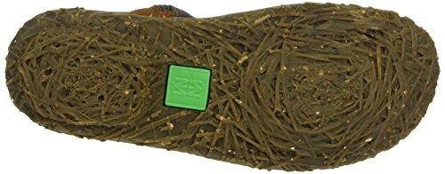 El Naturalista N796 Soft Grain-Pleasant Nido - Botas bajas para mujer Marrón (BROWN N12)
