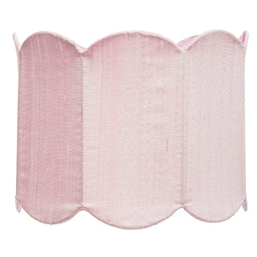 Jubilee Collection 4806 Double Scallop Drum Shade, Large, Pink