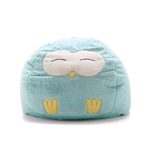 Childrens Bean Bags (Big Joe Lux 7690OWL Wild Bunch Owl, Super Soft Plush Bean)