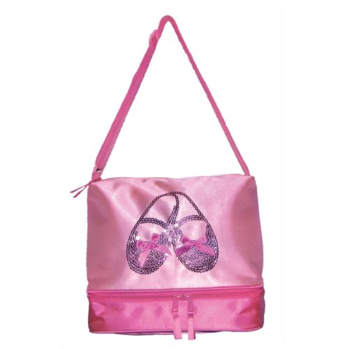 Horizon Dance 3402 Satin and Sequins Ballet Shoes Tote Bag for Little Girls (Sequins Ballet Shoes)