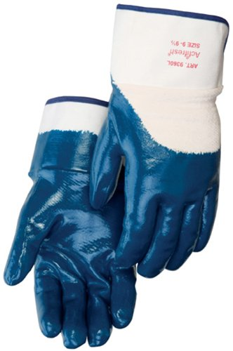 Liberty 9360SP Nitrile Heavyweight Palm Coated Glove with 2-1/2
