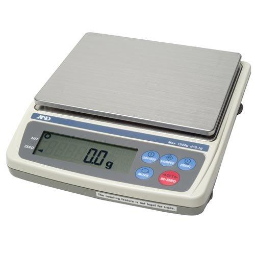 EW-1500i AND Digital Portable Bench scale, 300g x 0.1g, 600g x 0.2g, 1500g x 0.5g