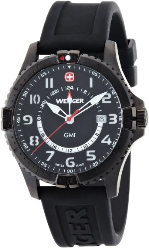 Mens Watches WENGER Squadron GMT 77073