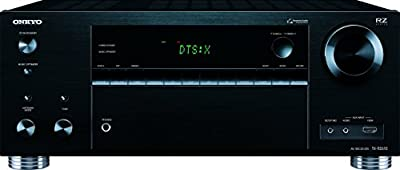 Onkyo TX-RZ610 Powerful Audio/Video Component Receiver, Black