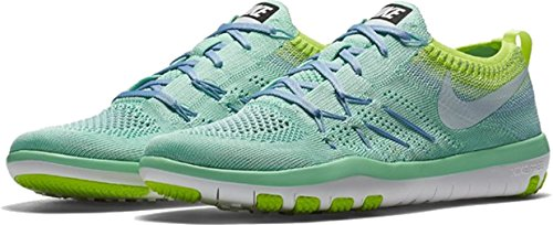 Womens Flyknit Breathable NIKE Glow Mesh Blue volt Trainers Focus Free Glacier Green d1xxO4qgw