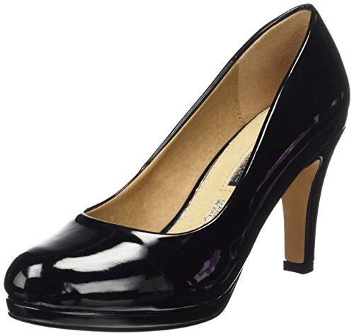 MTNG Originals 61303, Zapatos de Tacón con Punta Cerrada para Mujer Negro (CHAROL NEGRO)