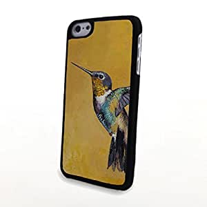 Generic PC Phone Cases Colorful Cartoon 3D Bird Matte Pattern fit for Vivid Cute iPhone 5C Case