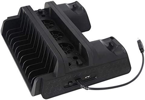 DOBE TP4-882 PS4 Vertical Base Charging Dock Joypad Playstation 4 Cooling Fan: Amazon.es: Electrónica