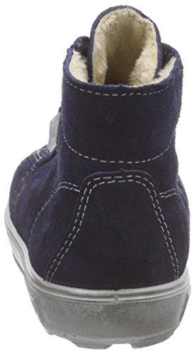 Ricosta Zaini - zapatillas deportivas altas de piel Niños^Niñas azul - Blau (nautic 170)
