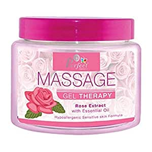Foot Massage Gel Therapy Rose