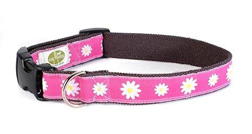 """Hemp Dog Collar, Small, Astrid 8"""" - 14"""""""